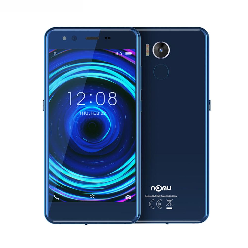 2019 Nomu M8 Mobile Phone blue_4+64G