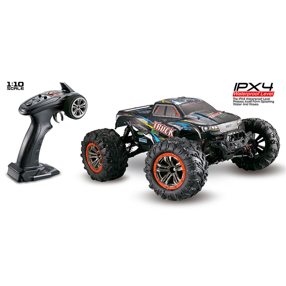 XINLEHONG TOYS RC Car 9125 2.4G 1:10 1/10 Scale Racing Cars Car Supersonic Monster Truck Off-Road Vehicle Buggy Electronic Toy blue