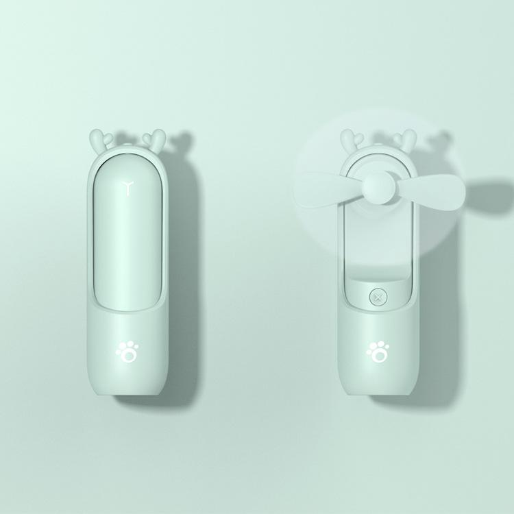 Portable Mini Fan for Home Office Desk Travel USB Rechargeable Fan
