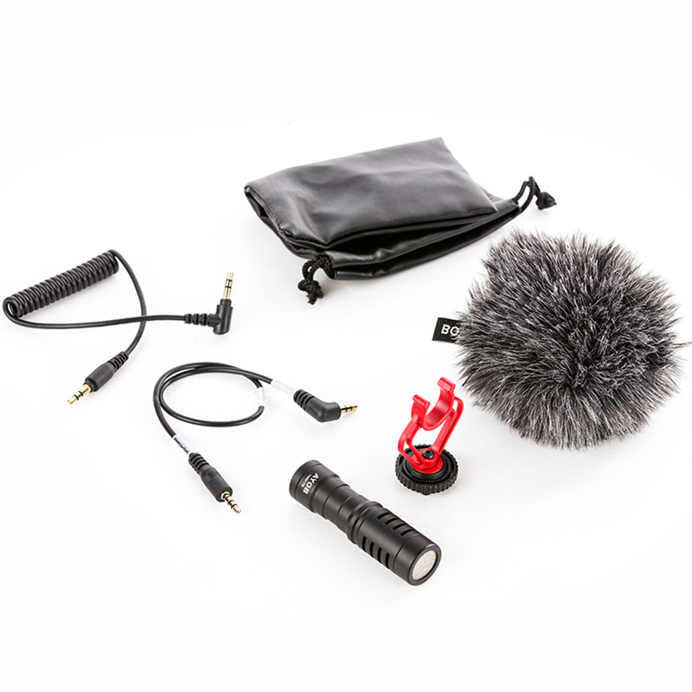 Capacitance Microphone Video Recorder for Studio Live Streaming Broadcasting Recording