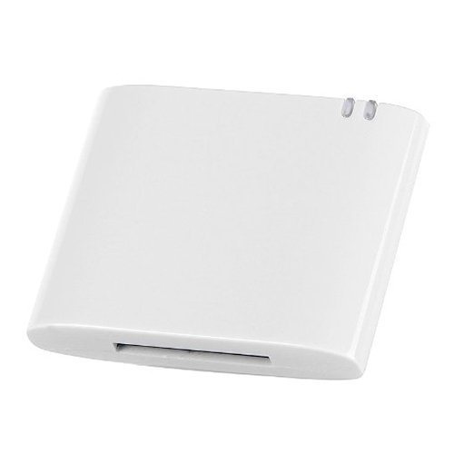 For 30pin iPhone iPod to Stereo Sounddock Bluetooth Audio Music Receiver Adapter white