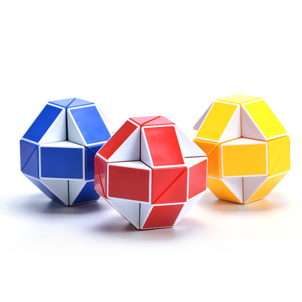 1PC Kids Student Educational Variety Twisting Magic Cube Game Puzzle Toy Random Color