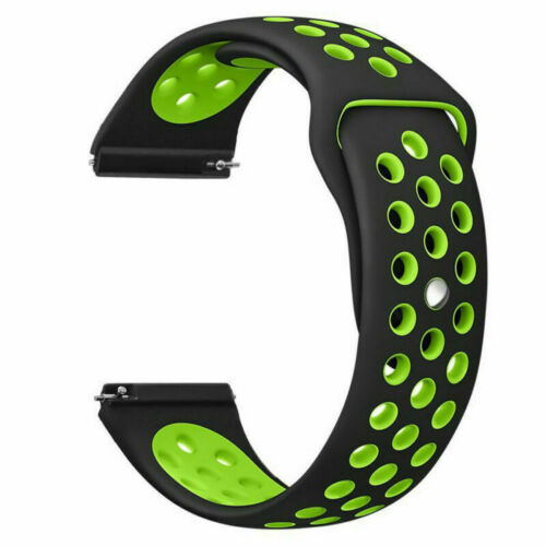 For Fitbit Blaze Watch Replaces Silicone Rubber Band Sport Watch Band Strap Black green