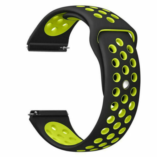 For Fitbit Blaze Watch Replaces Silicone Rubber Band Sport Watch Band Strap Black yellow