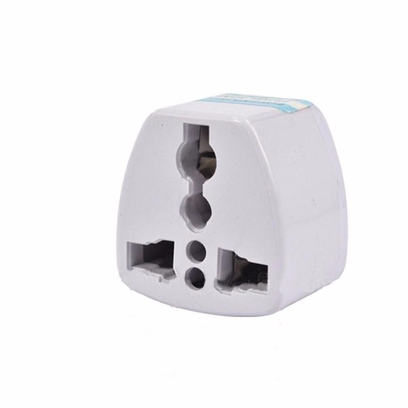Universal 3Pin AU Power Plug Adapter 3 pin New Zealand Australia Travel Plug US/UK/EU to AU/NZ Plug  white