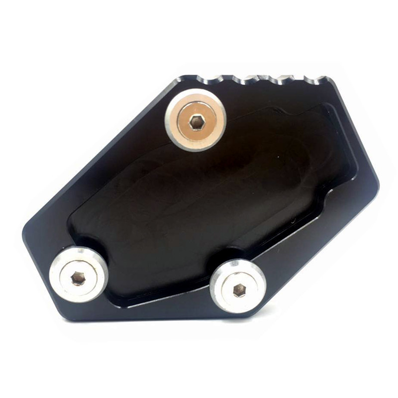Motorcycle Side Stand Enlarge Pad for  Ducati Multistrada 1200 1200S MONSTER 795 796 821 1200 1200S Monster  black