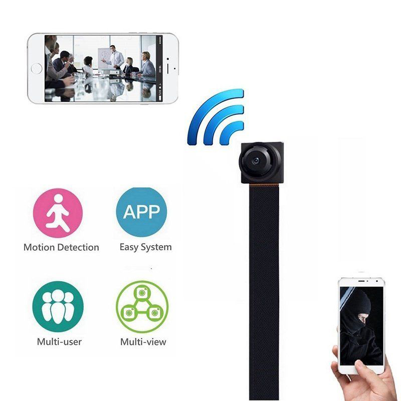 Mini WIFI 1080P HD Security IP Camera