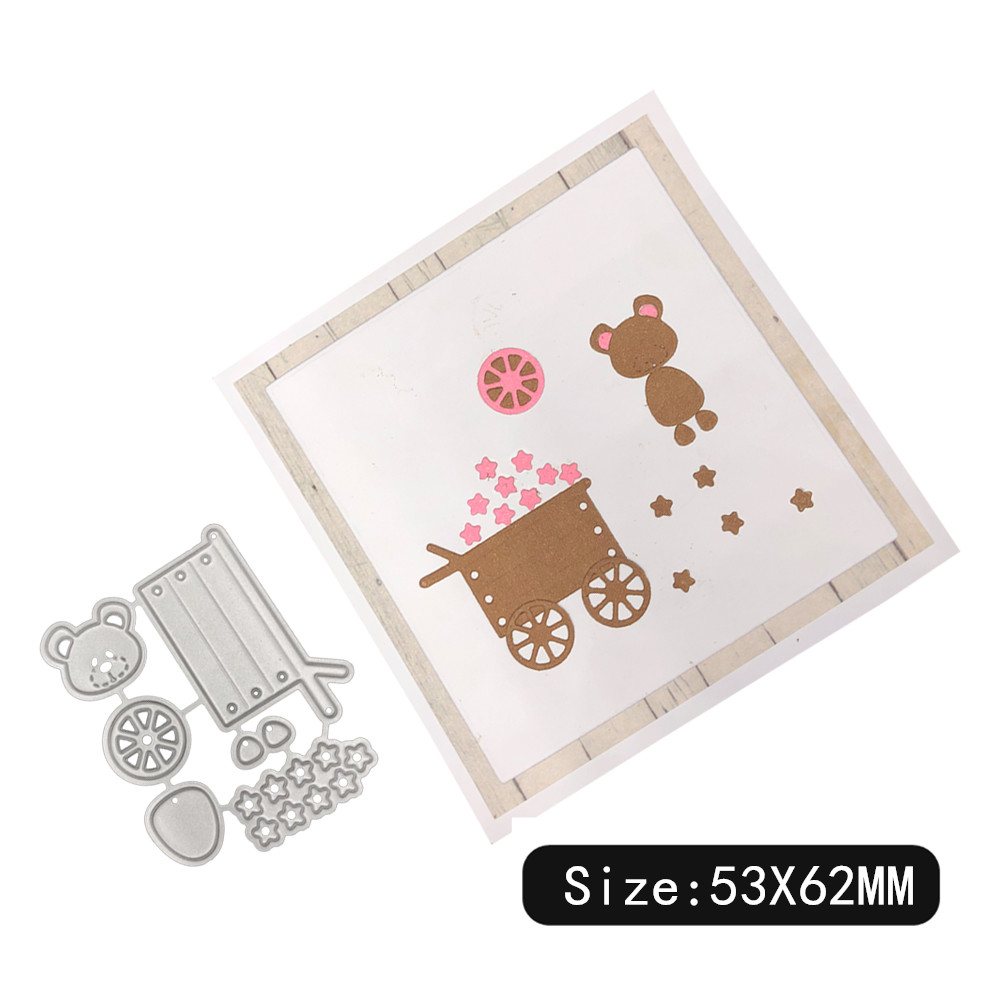 Carbon Steel Cutting Dies for DIY Scrapbooking Album Paper Cards Decorative Crafts Envelope Lace / Invitation Lace 1805573