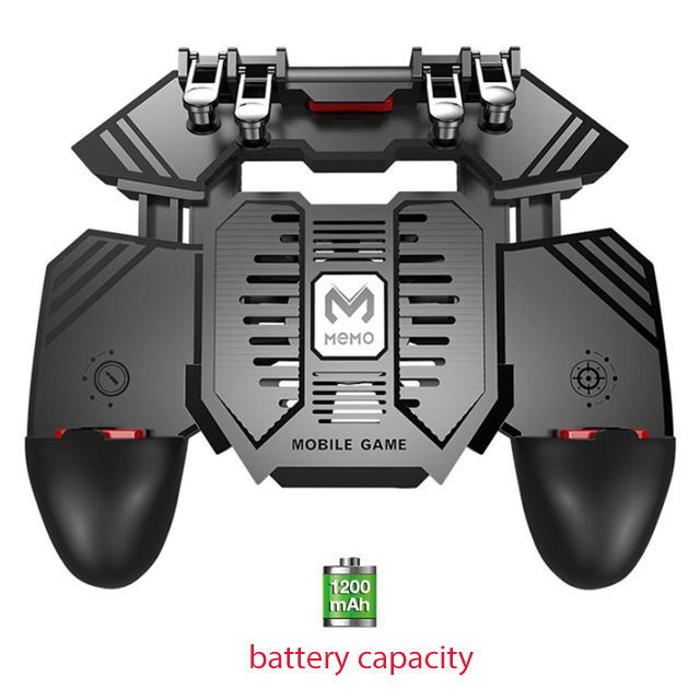 AK77 Mobile Game Controller Trigger Joystick Gamepad Mobile Phone Gamepad Transmitter Handle for PUBG