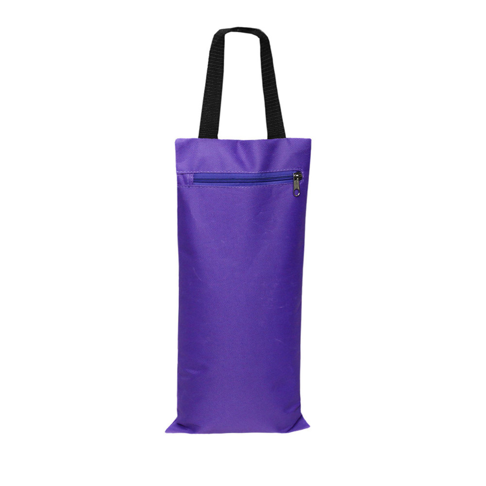 Unfilled Sandbag for Yoga Weights and Resistance Training with Inner Waterproof Bag purple_41 * 18cm