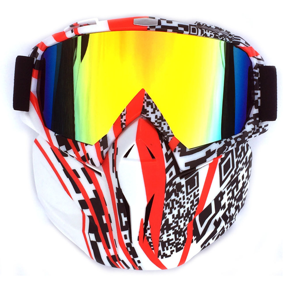 Retro Outdoor Cycling Mask Goggles