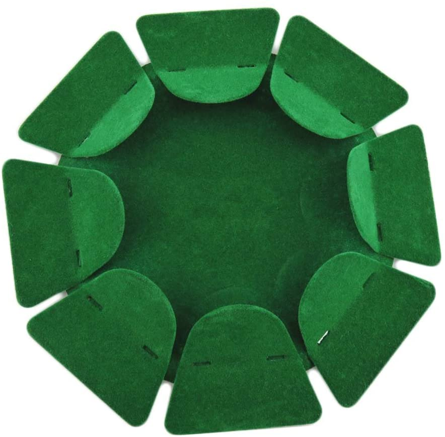Golf Putting Cup Indoor Golf All-Direction Putting Hole Golf Practice Hole Cup Surface Flocking green