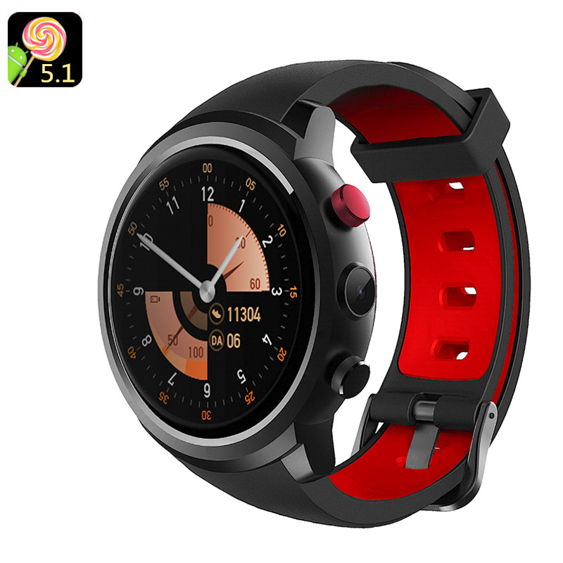 Android 5.1 Watch Phone(Black)
