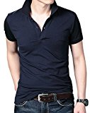 Young Horse Men Cotton Elastic Polo Shirt