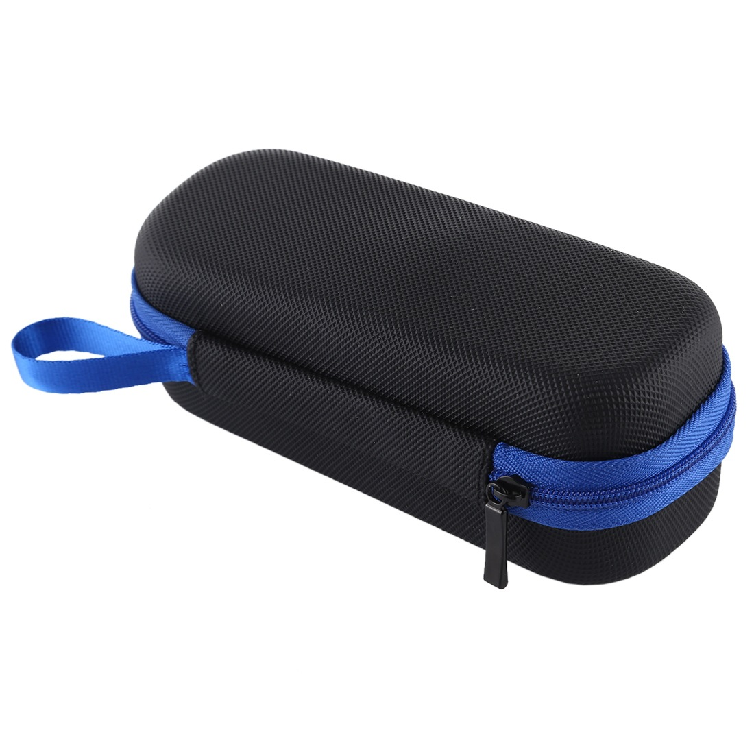 Mini Case Portable Diamond Texture PU Leather Storage Case Bag For for Insta360 One X Camera black