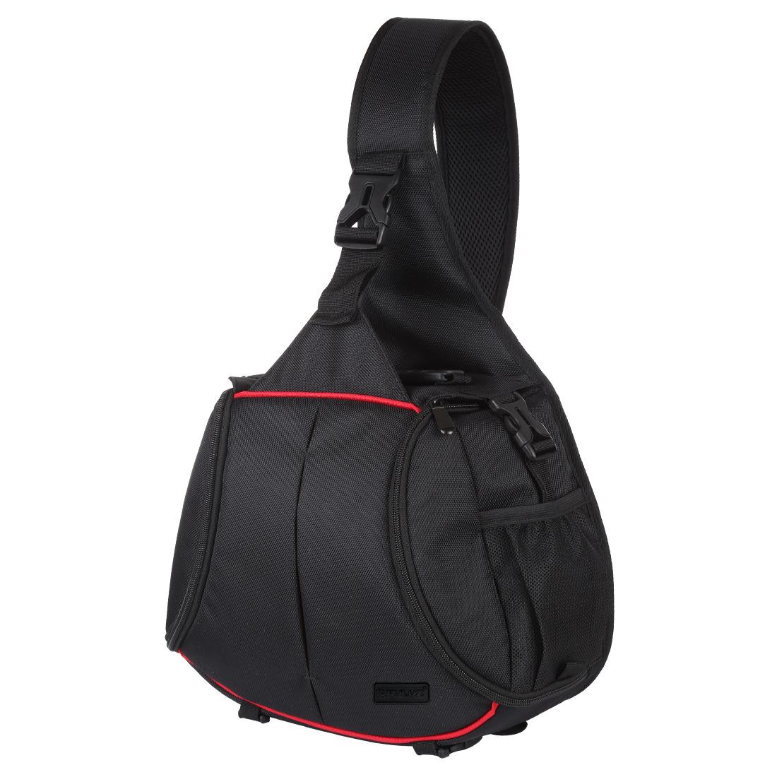 Camera Bag Protection Backpack Waterproof Shockproof for SLR DSLR Mirrorless Camera Lens Battery black