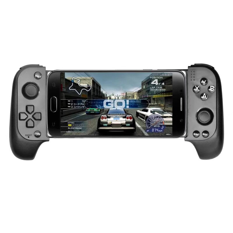 Stk-7007f English Version Wireless Bluetooth Gamepad Game Controller black