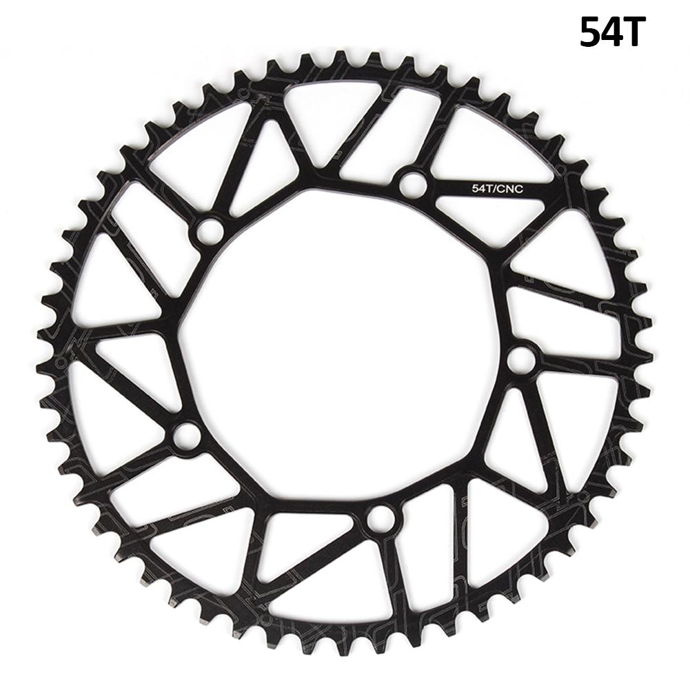Litepro Bicycle Ultra-light Chain Wheel 8/9/10/11 Speed Aluminium Alloy Chainwheel Positive and negative tooth single disc 54T