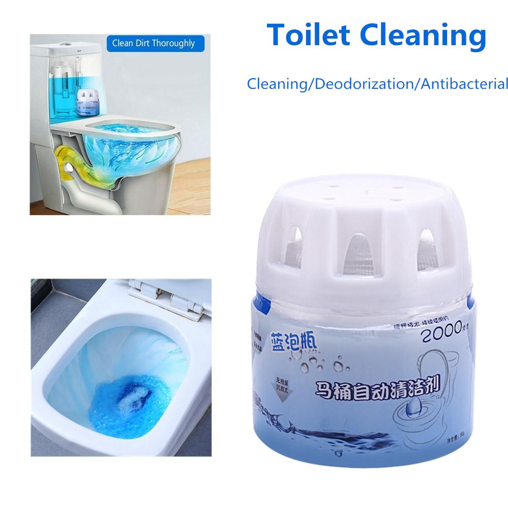 Deodorant Antibacterial Automatic Toilet Cleaner Detergent 1 bottle