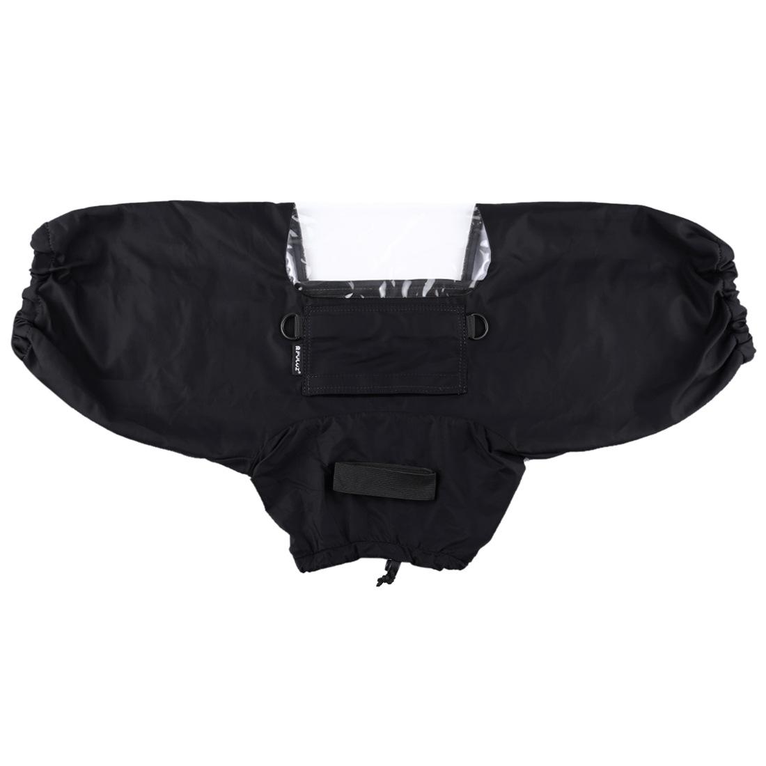 Professional Camera Rain Cover Coat Bag Protector Rainproof Against Dust Raincoat for Canon/Nikon/Song DSLR SLR Cameras black