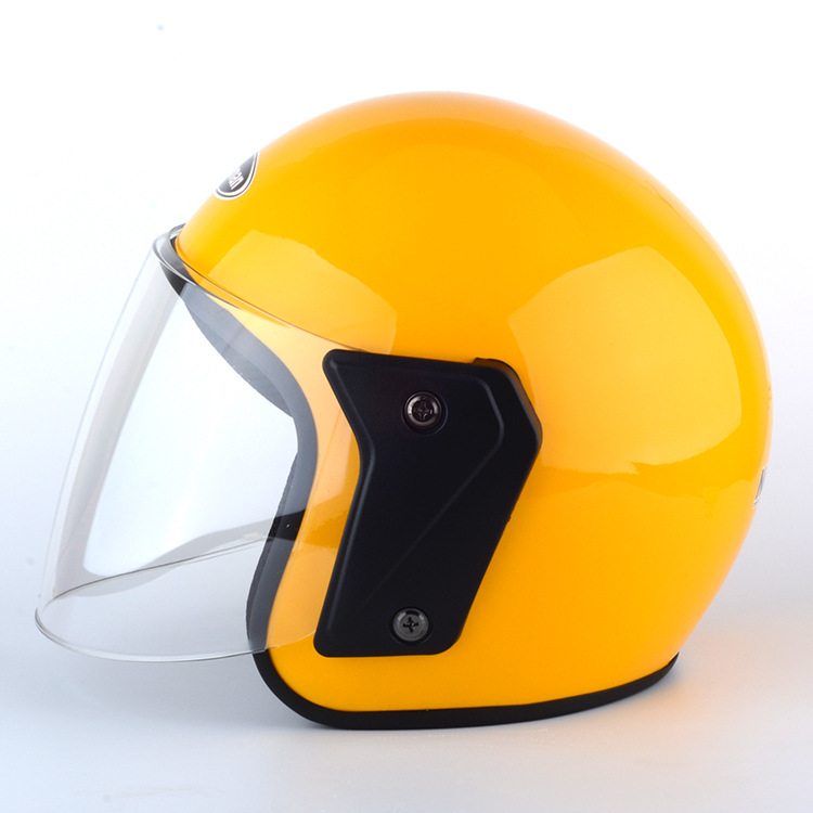 For Winter Impact Resistant Unisex Riding Motorbike Riding Helmet  yellow