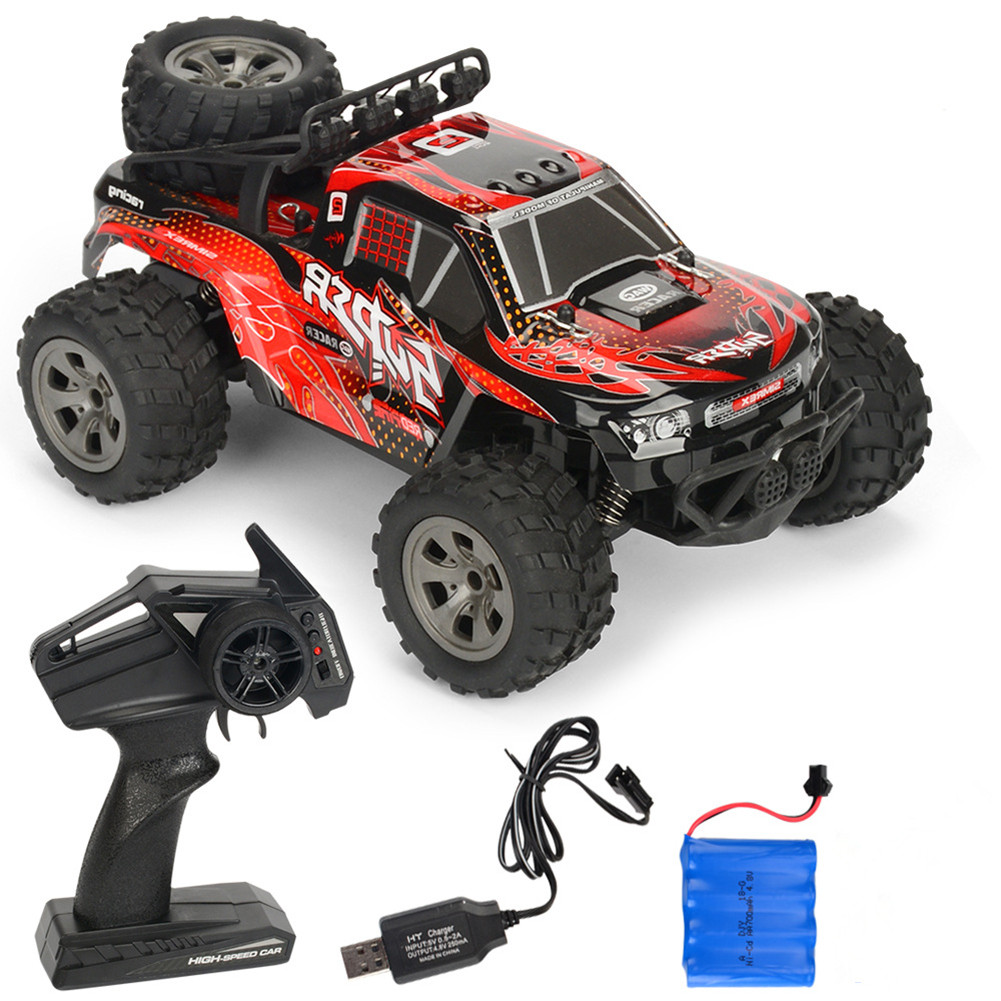 Rc  Car Remote Control High Speed Vehicle 2.4ghz Electric Toy Model Gift 679 red