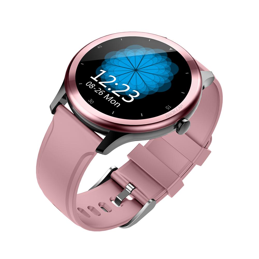 Fy01 Smart Bracelet 1.4-inch Color Screen Heart Rate Blood Pressure Measurement Smart Watch Pink