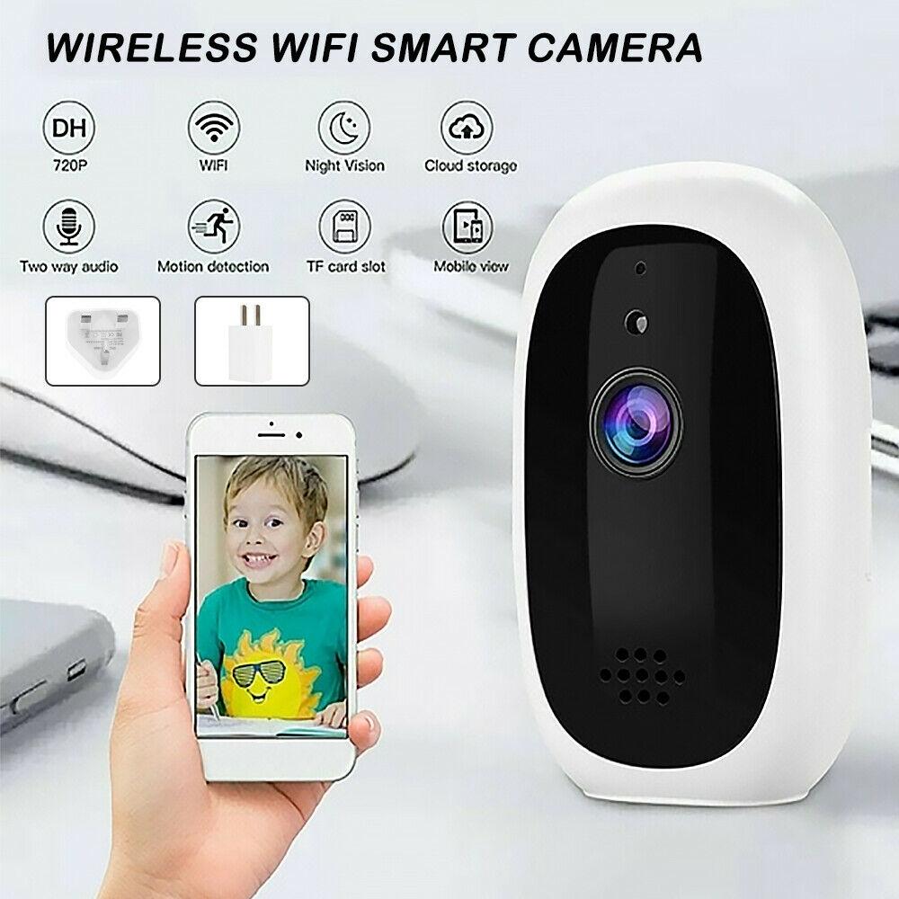 720p Wireless Remote Monitoring Camera Home High-definition Camera Smart WIFI IP Camera UK Plug