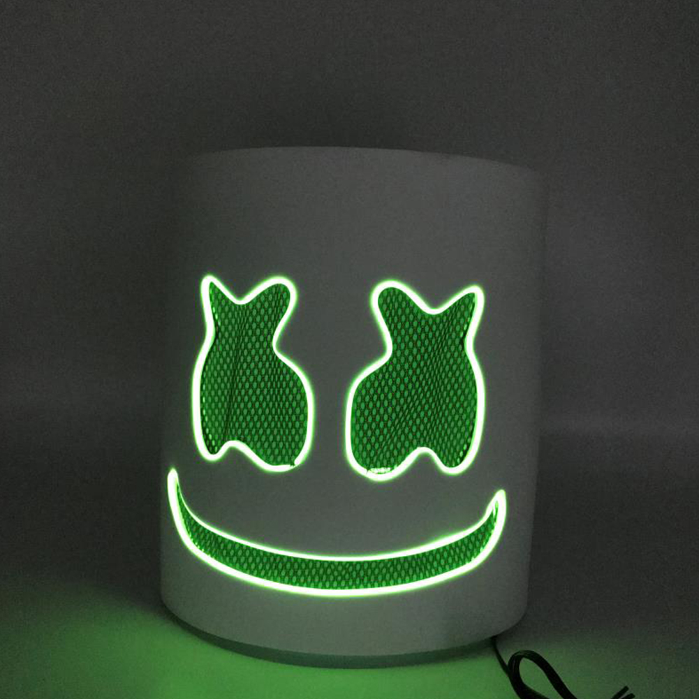 Unique Luminous Mask for Bar Party Wear green