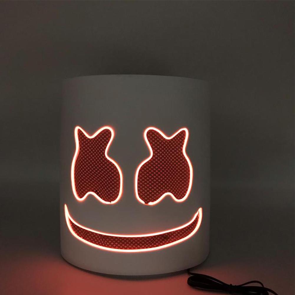 Unique Luminous Mask for Bar Party Wear Orange