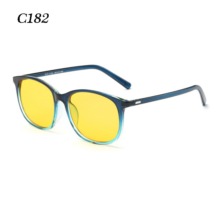 Anti Blue Rays Glasses TR90 Frame Unisex Eyeglasses Frames Anti Blue Rays Clear Lens