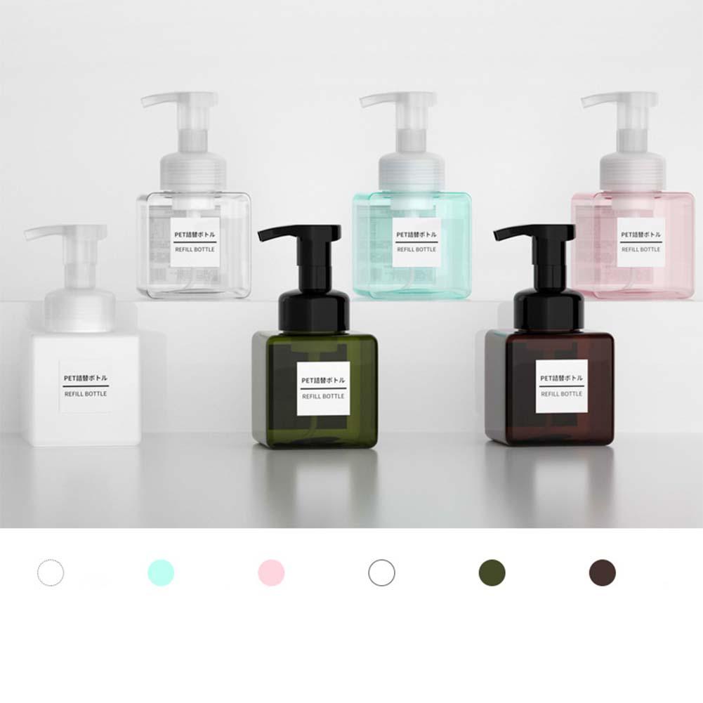 250ml Divided Empty Bottle for Shower Gel Hand Sanitizer Shampoo Dispenser