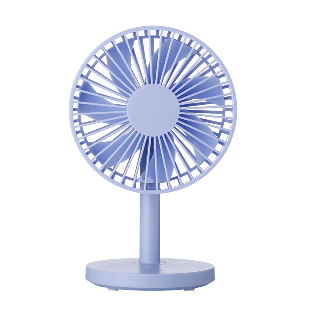 Mini USB Tabletop Mute Fan for Office Home Student Dormitory blue