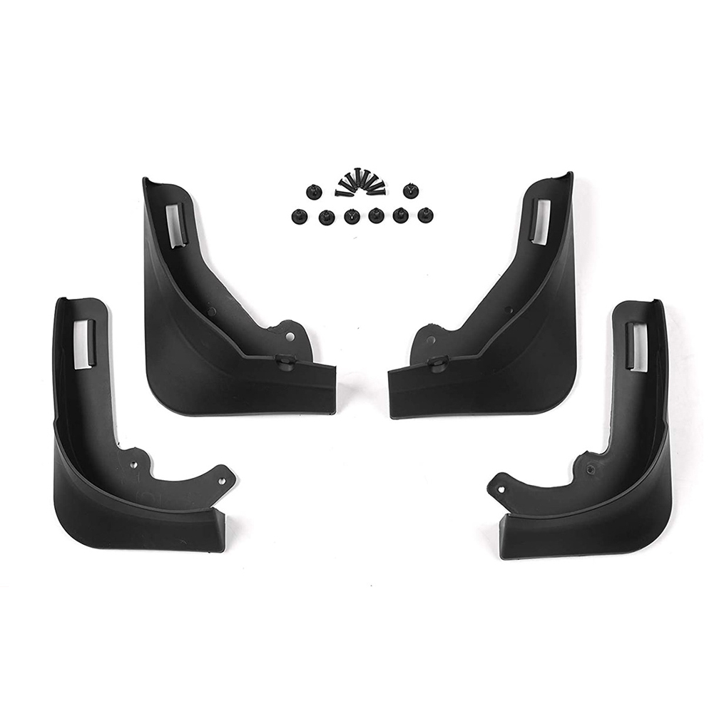 Mud Flaps Splash Guards For Tesla Model Y No Drilling Required Mud  Guard Modification Accessories 4-piece set