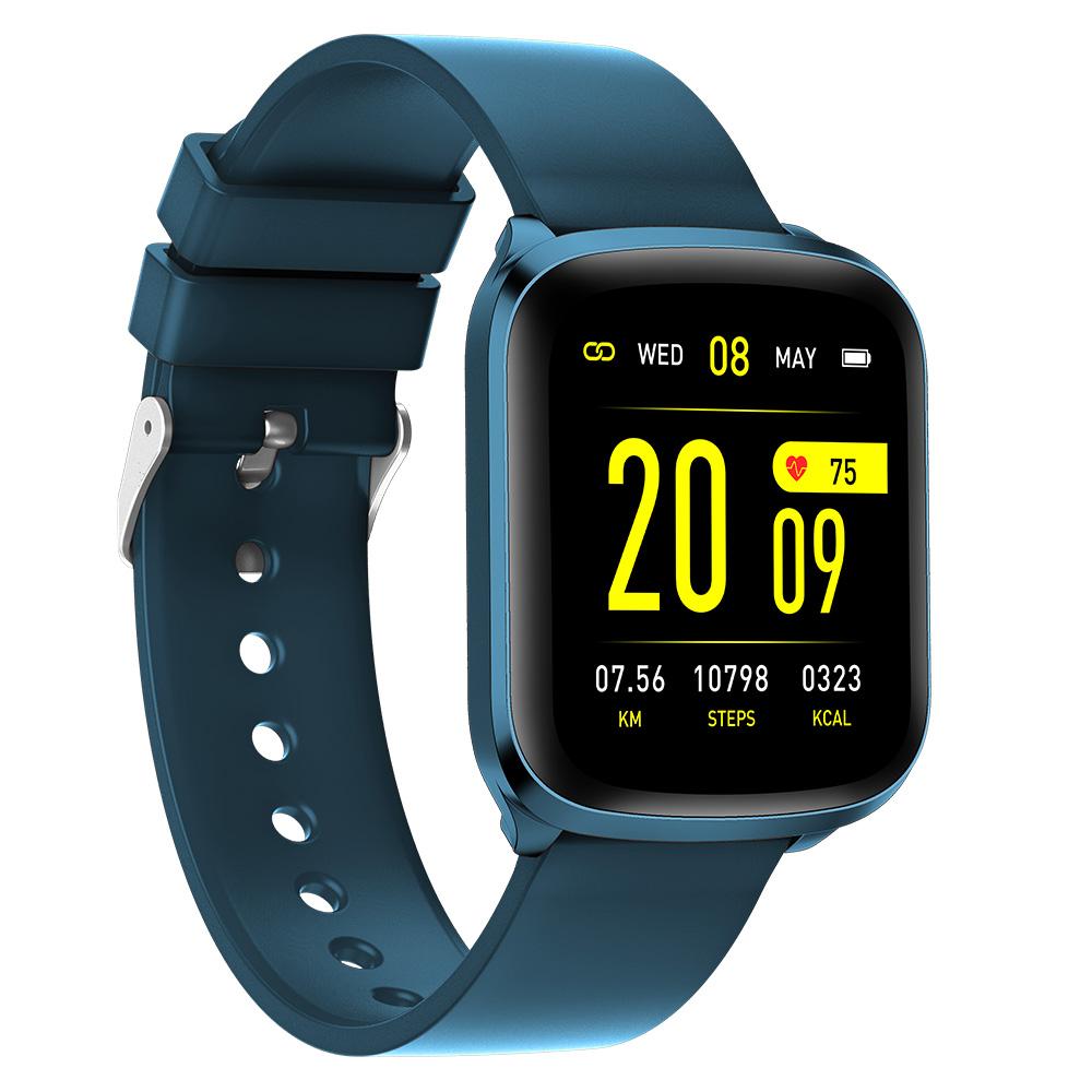 Smart Touch Kw03 Smart Watch Universal System Fitness Pedometer Sleep Tracker Unisex Ip68 Waterproof Dark Cyan