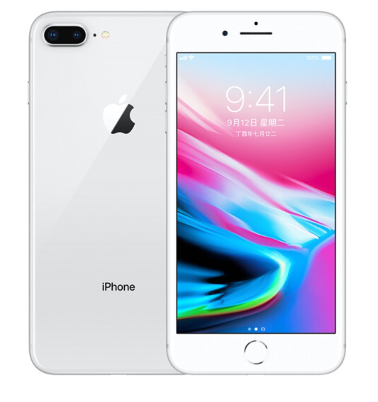 Refurbished iPhone 8Plus 256G phone UK-Silver