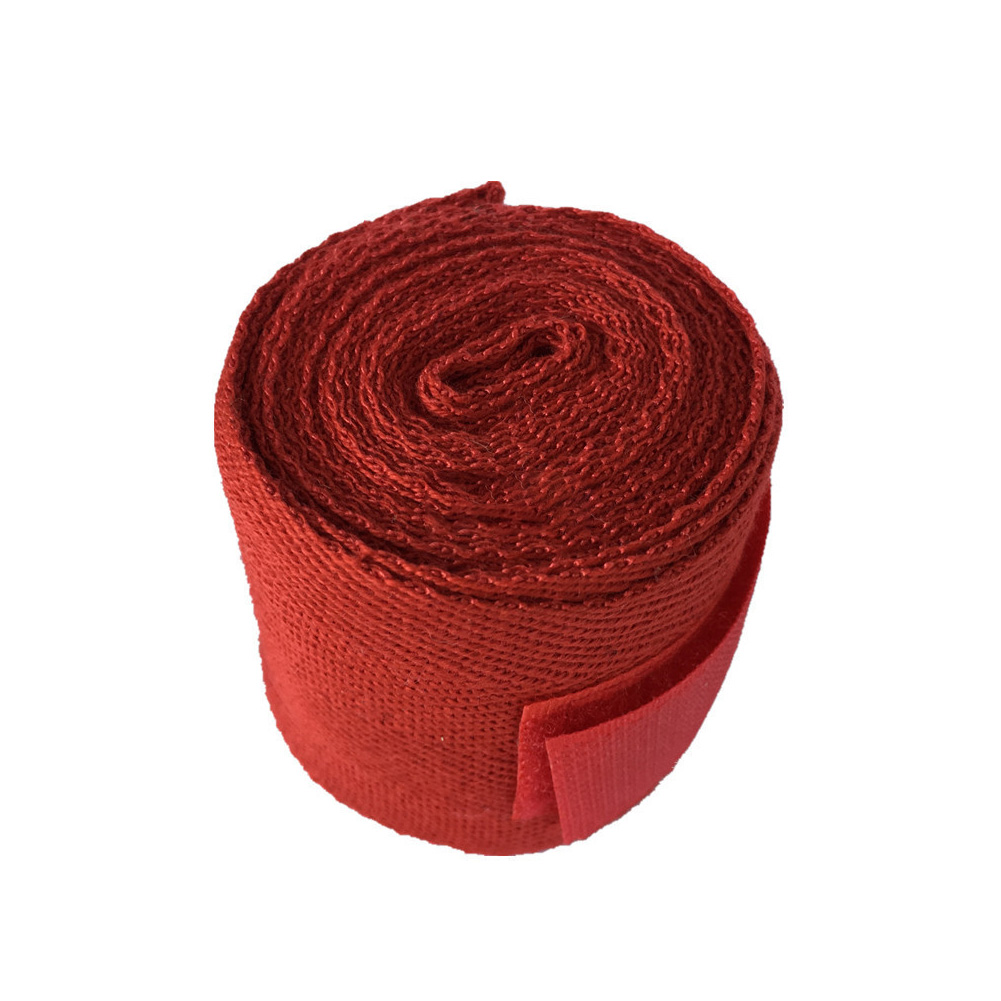2.5m Sports Strap Cotton Kick Boxing Bandage Wrist Hand Gloves Wraps Straps Equipment red