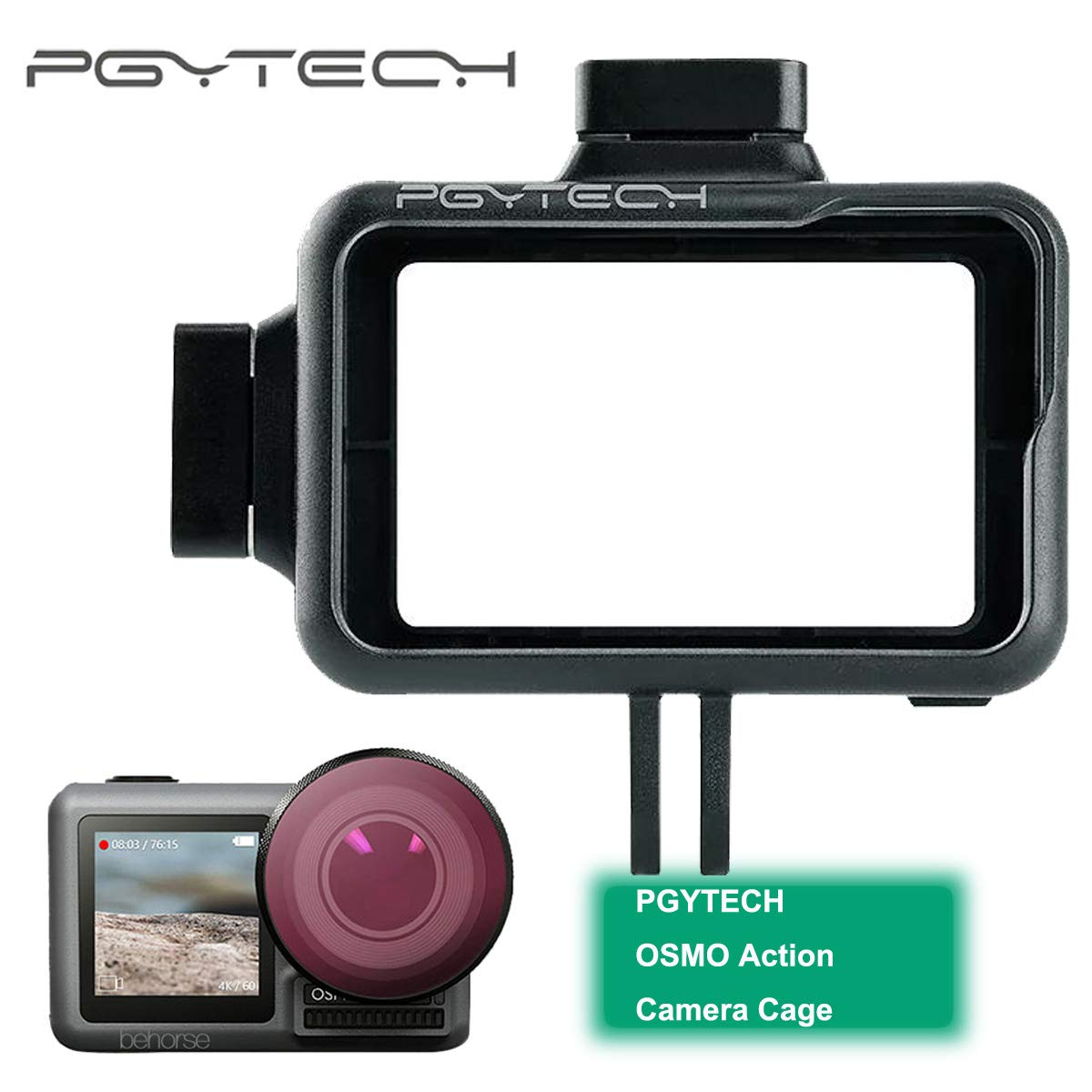 PGYTECH OSMO Action Accessories Camera Cage black