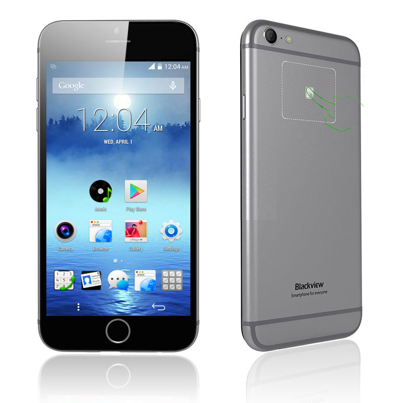 Black Ultra A6 Phone (Gray)