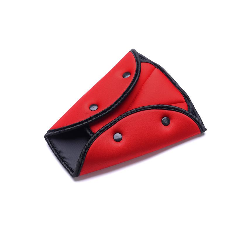 Car Seat Safety Belt Adjuster Fixator Adjustable Triangle Safety Seat Belt Pad Car-Styling Pad