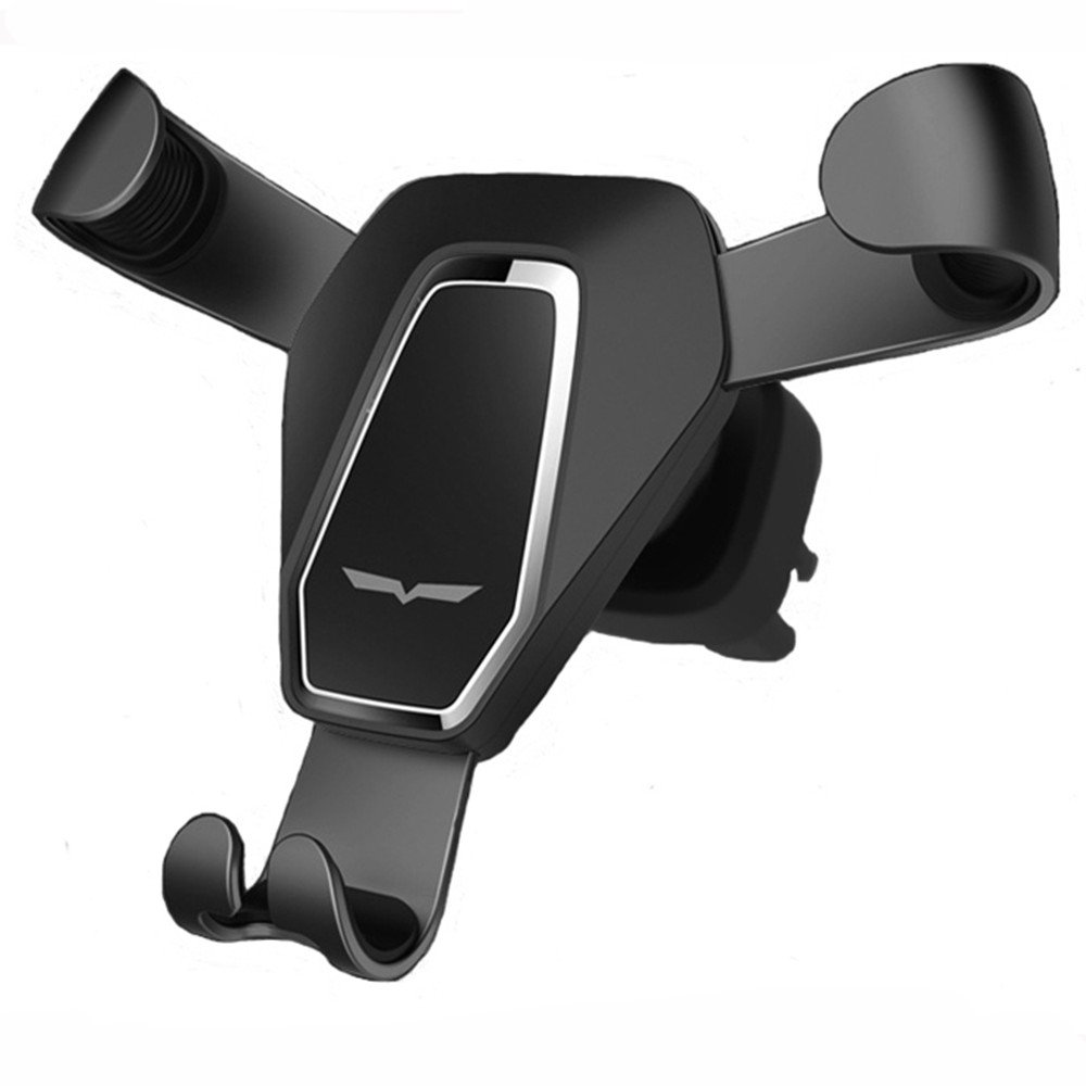 Universal Gravity Air Vent Phone Car Mount Holder Free Angle Rotation for Mobile Phone,iPhone Xs/X/8/7/6s/Plus/5S/4S, Samsung S8/S7/S6/Note 8  Bird stand black