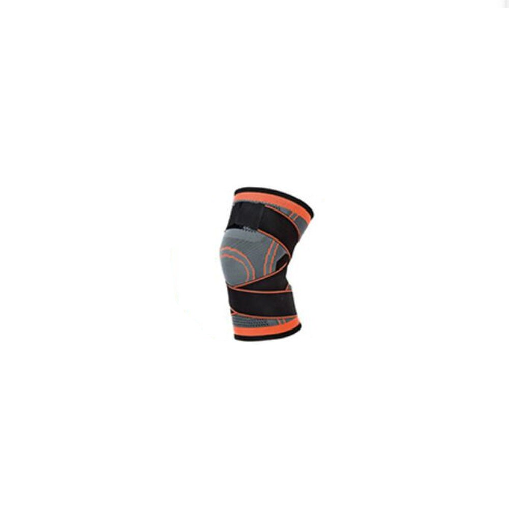 Outdoor Wrapped Bandage Knee Protector Cycling Fitness Adjustable Elastic Anti-slip Knee Protector