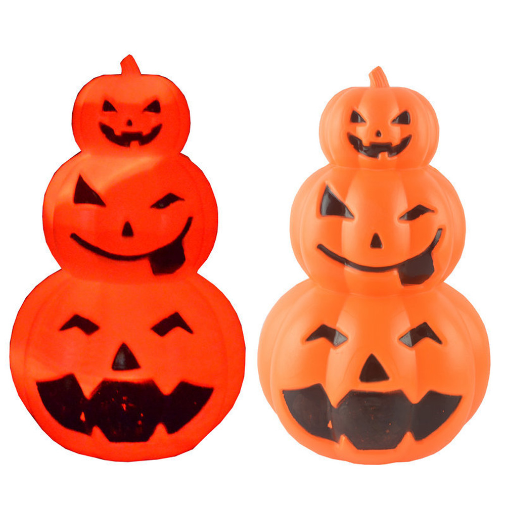 Halloween Decoration Glowing Pumpkin-shaped Lantern Ornaments Halloween Lighting Decoration Supplies As shown in the figure