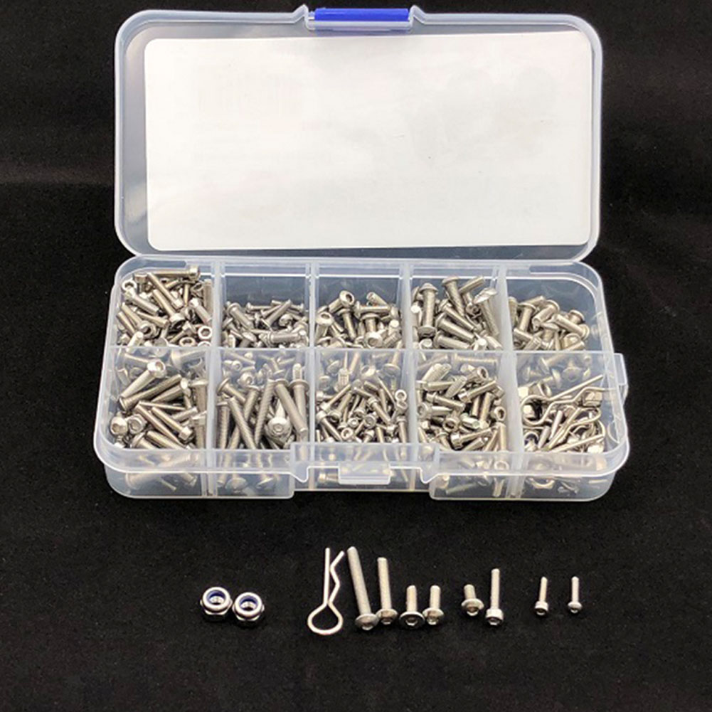 Traxxas TRX4 Accessory Screw Box Stainless Steel Screw Tool Accessories TRX4