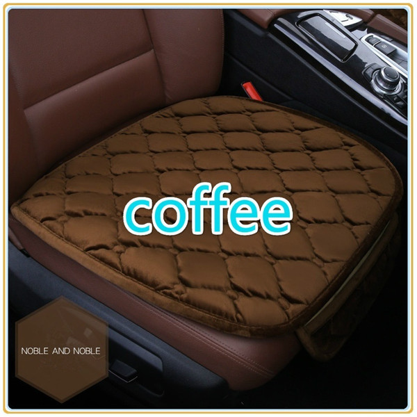 Simple Comfortable Car Front Cushion Non-slip Breathable Car Cushion coffee