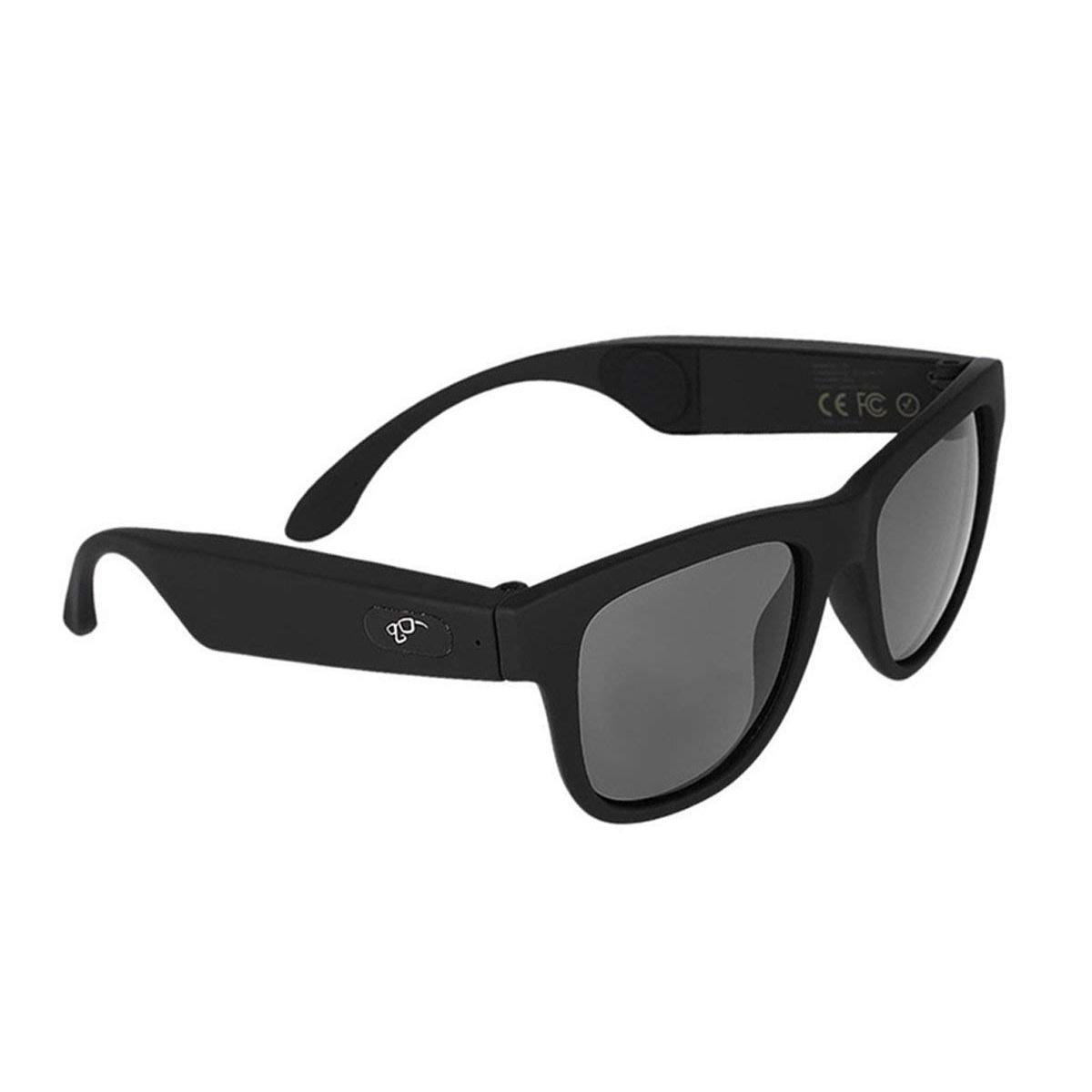 G1 Glasses Bone Conduction Headphone Ear Carer Touch Panel Filter UV Ray  Sunglasses Bluetooth 4.0 Headset  black