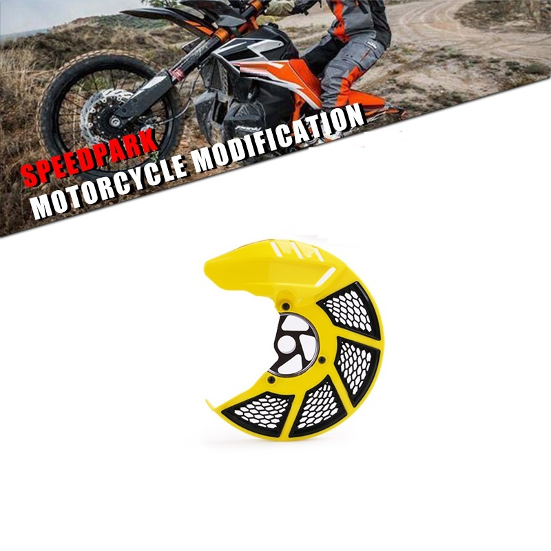 Motorcycle Brake Disc Guard Cover Protector For Honda Motorcycles Yellow