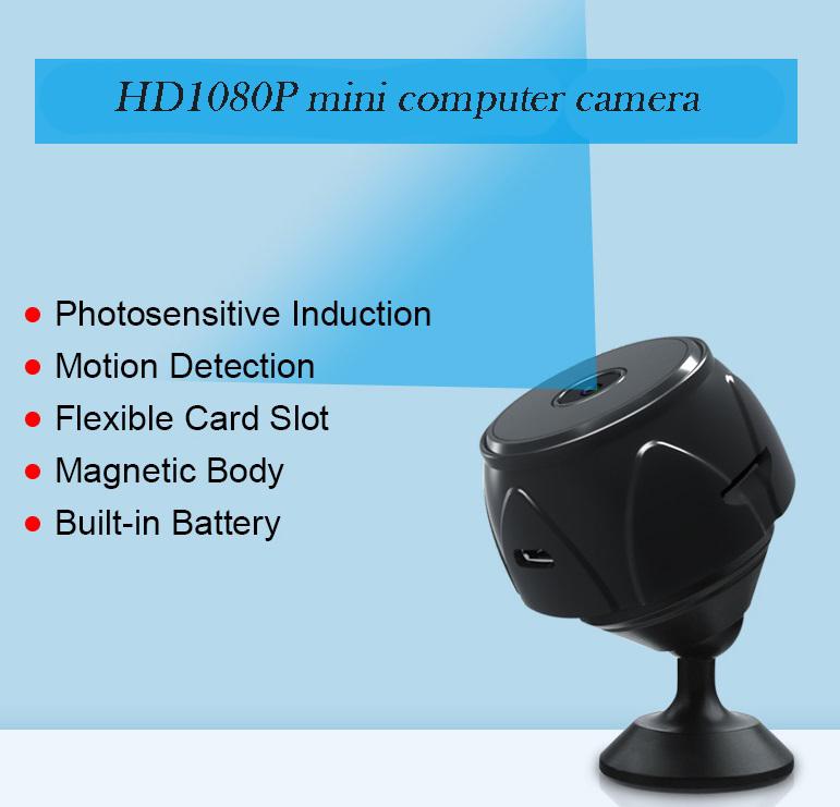 HD Webcamera 1080Pmini Digital Video Webcam for Computer PC Desktop Laptop TV Box Direct recording HD1080P