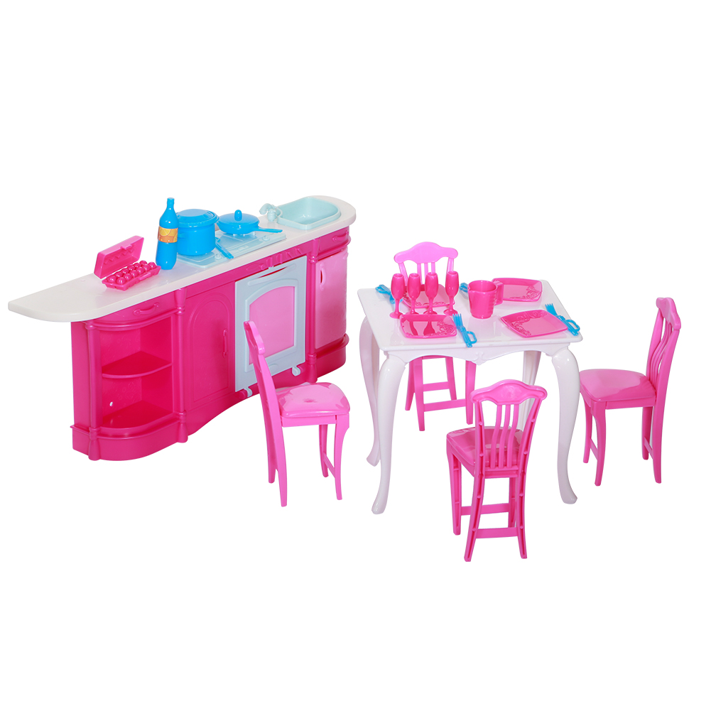 Dolls Accessories Pretend Play Furniture Set
