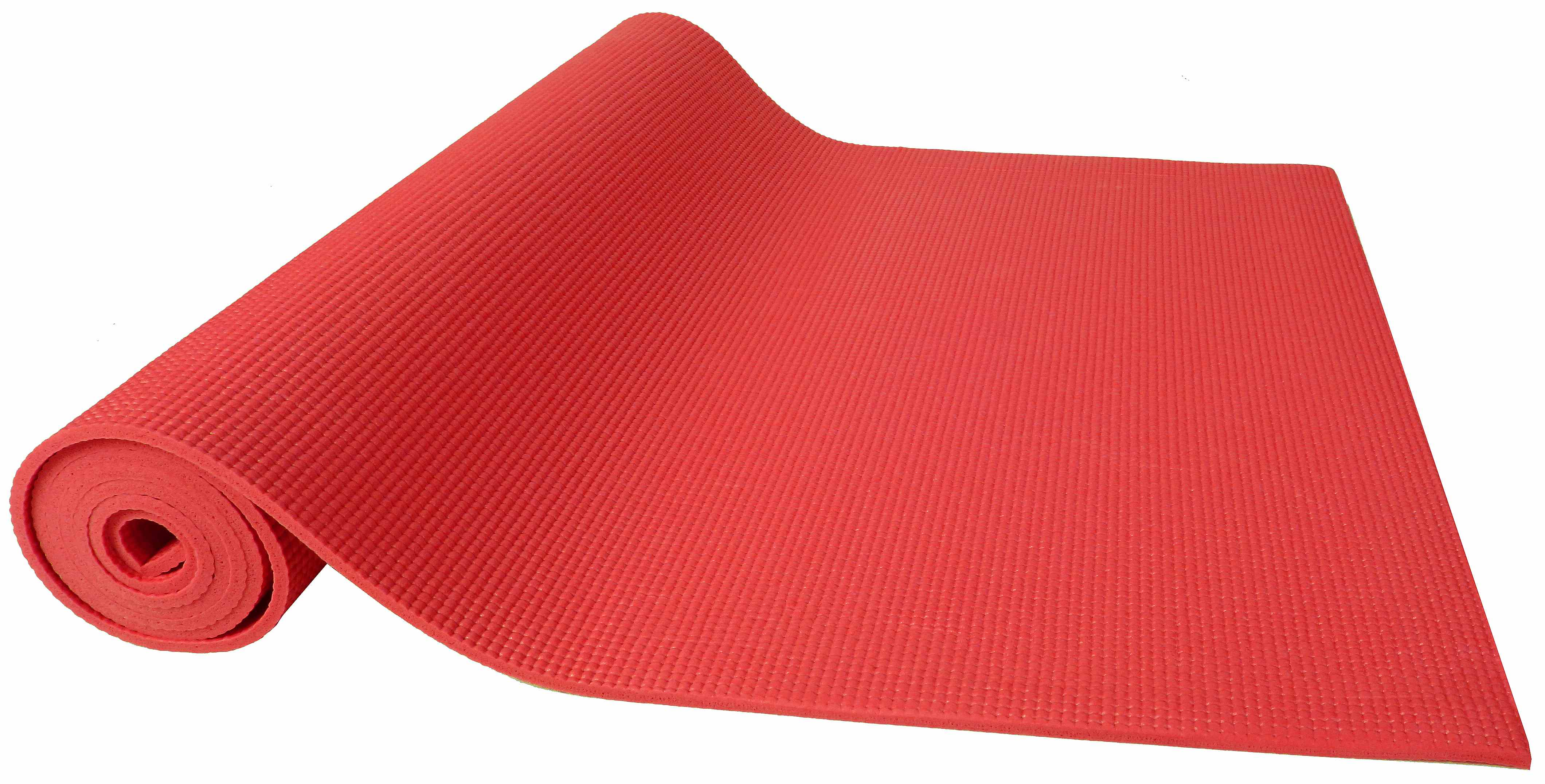 [US Direct] Original BalanceFrom GoYoga All Purpose High Density Non-Slip Exercise Yoga Mat with Carrying Strap, Blue Red
